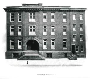 Stetson Hospital c 1912